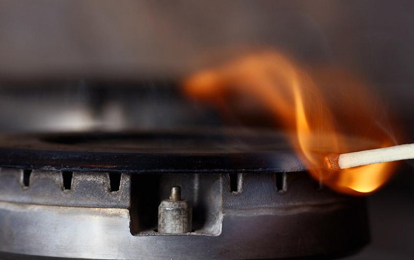 gas de cozinha